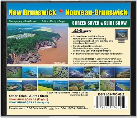 New Brunswick CD-Rom Back Cover